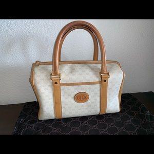 Authentic Gucci Boston speedy doctor satchel purse